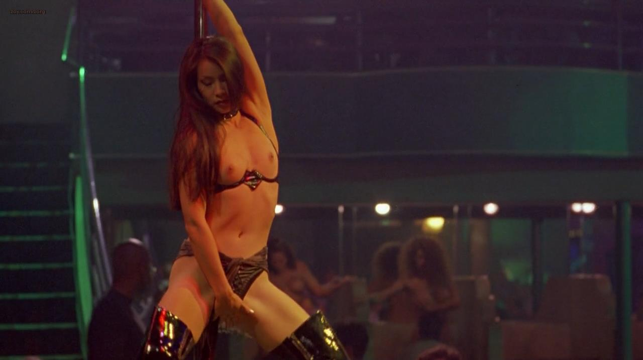 Lucy Liu nude topless as stripper and Dana Barron hot in ...